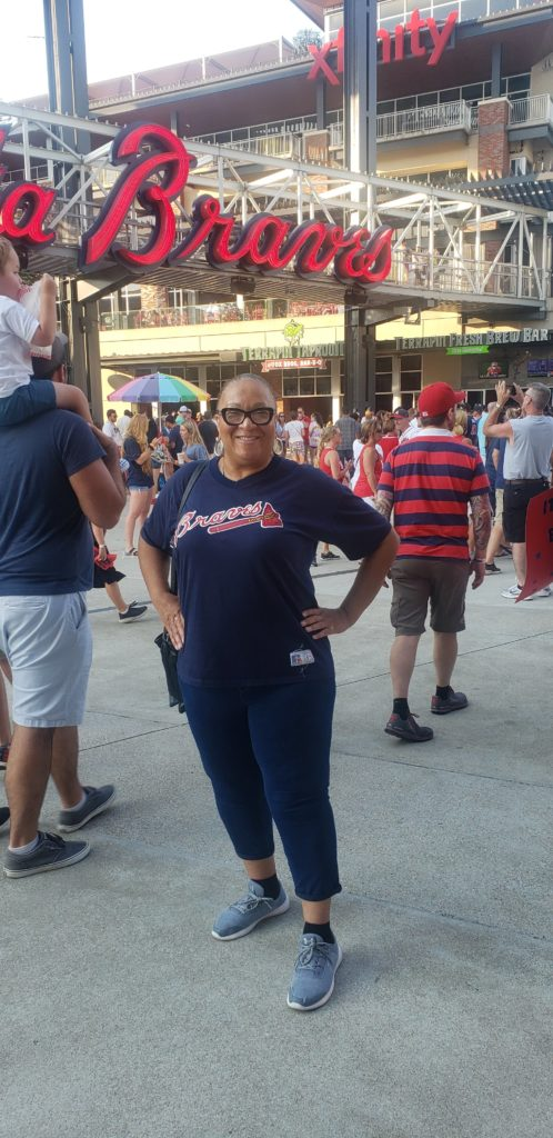 Stroke Survivor at Braves Game