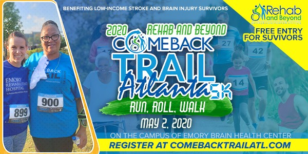 2020 Rehab and Beyond Comeback Trail Atlanta 5K Promo